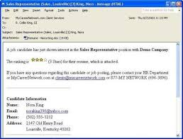 Send Resume By Email Example by Email Forwarding A Resume Ecordura Com