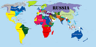 Great Britain On World Map by Continents Of The World Map Roundtripticket Me