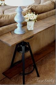 Make A Sofa by Best 25 Narrow Sofa Table Ideas That You Will Like On Pinterest