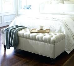 banquette de chambre banc pour chambre 2 le bout de lit style romantique banquette coffre