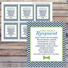 Bring Book Instead Of Card To Baby Shower Insert Card