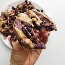 twist of lemons simple mills purple sweet potato waffles