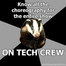 Badger Memes - 81 best backstage badger images on pinterest theatre geek musical