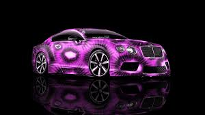bentley car pink bentley continental gt kiwi aerography car 2014 el tony