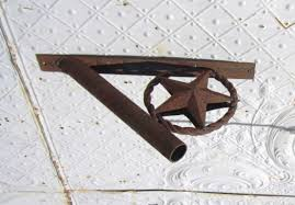 Flag Bracket Wrought Iron Flag Holder