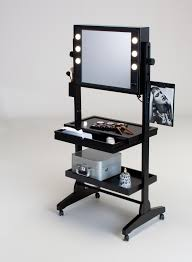 Professional Makeup Stand Table Winning Professional Vanity Table On Wheels L200x2 Two Way