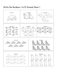 Number Worksheets Pre K Number Worksheets Easy Kiddo Shelter
