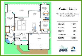 Custom Built Homes Floor Plans Lake View Tracey Homes Swfl Custom Built Homes