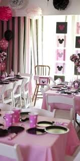 Pink And Black Minnie Mouse Decorations 86 Best Minnie Mouse Party Images On Pinterest Minnie Mouse