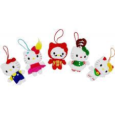 hello mascot plush ornament ast 4 inch the