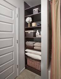 beautiful bathroom closet storage shelves for bathroom closet best