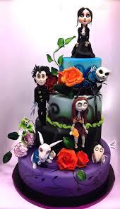 Hello Kitty Halloween Cake by Tim Burton Cake Tea Time Let Them Eat Cake Pinterest Tim