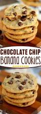 chocolate chip banana cookies mom on timeout