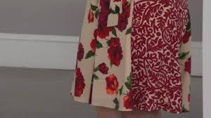 isaac mizrahi live engineered floral shirt dress page 1 u2014 qvc com