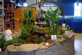 Backyard Pond Supplies by Retail Store Design Center Splash Supply Company