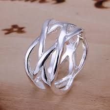 fine fashion rings images 925 sterling silver ring fine fashion fish net silver jewelry ring jpg