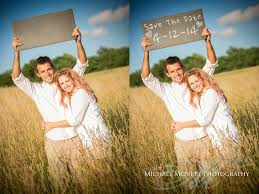 save the date signs use elements like wood and slate for your save the date