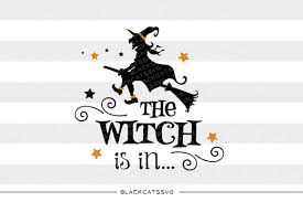 witch silhouette clipart the witch is in svg file cutting file clipart in svg eps dxf