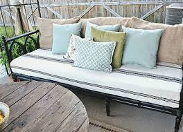 use a tablecloth to reupholster an old sofa diy couch makeovers