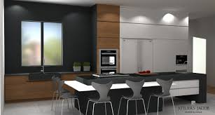 plan de cuisine en 3d kitchen 3d renders exles ateliers jacob