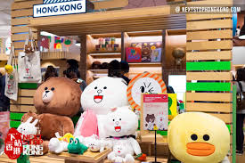 Line Store Line Friends Store In Hysan Place Nextstophongkong Travel Guide