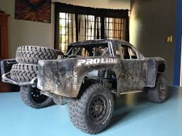 baja truck rc trophy truck with real racing baja sound gopro youtube