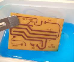 printed circuit board production using uv nail curing lamp 5