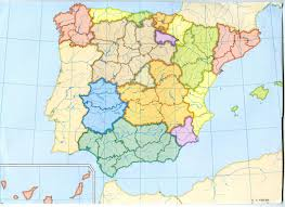 Maps Spain by