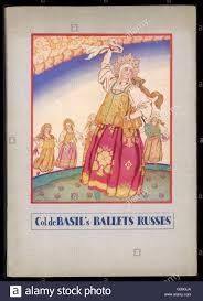 cover programme design for col de basil u0027s ballet russes at the