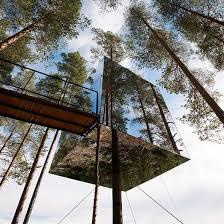 mirrorcube tree house now for sale dezeen