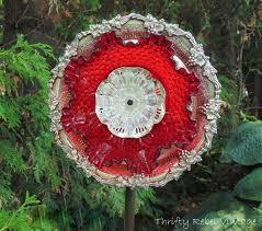 Glass Garden Decor 435 Best Garden Junk Art Images On Pinterest Garden Ideas