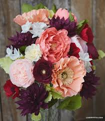 crepe paper flowers crepe paper flower on the hallmark channel lia griffith