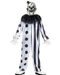 Scary Halloween Costumes Girls Kids Boys Killer Clown Costume Boys Halloween Costumes