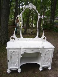 Bathroom Vanity Chest by Country Hearth Interiors Painted Antique Vanity Chest