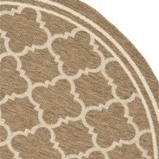 Safavieh Indoor Outdoor Rugs Safavieh Poolside Brown Bone Indoor Outdoor Rug 5 3