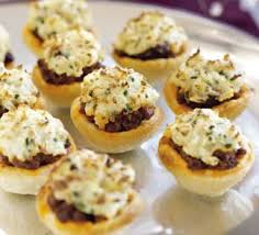 mini canape savoury bites recipe food