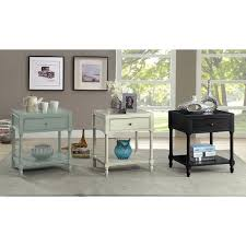 Storage End Table Furniture Of America Madelle Iii Vintage Style Storage End Table