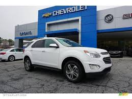 chevy equinox 2017 white 2016 summit white chevrolet equinox ltz 107603254 gtcarlot com