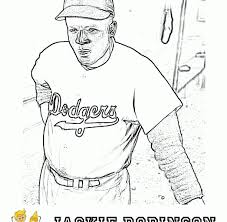 Jackie Robinson Coloring Page Fired Up Free Coloring Pages Jackie Robinson Coloring Page