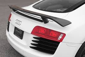 Audi R8 Models - new product gmg gt carbon fiber wing for audi r8 coupe models