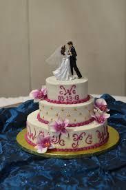 wedding cake name ivory magenta gold orchid wedding cake u name it creative services