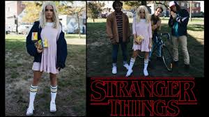 stranger things halloween costume solo group diy youtube