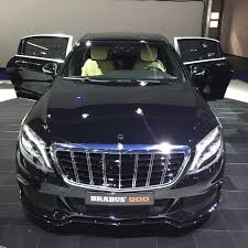 new brabus design grill with vertical chrome lines and brabus