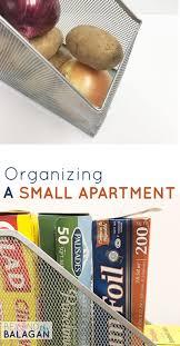 organizing a small apartment beyond the balagan