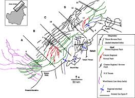 Scsu Map Transverse Segmentation Of The Baram Balabac Basin Nw Borneo