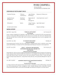 Servers Job Description For Resume by Barback Resume 14 Barack Resume Barback Duties Cover Letter Busser