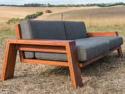 queenscliff exposed timber frame couch by luke collins timber