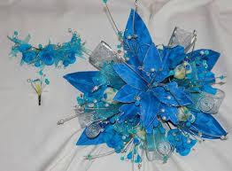 Quinceanera Bouquets Mis Quince Ramo Azul Turquesa Turquoise