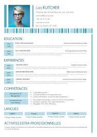 Self Motivated Resume 37 Best Cv Modernes Images On Pinterest Mbti Hunting And Resume