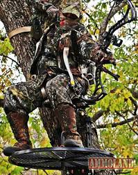 johnson 360 treestand changing the hunt one crooked tree at a time